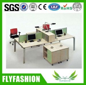 Four Person Wooden Office Workstation (OD-54) pictures & photos