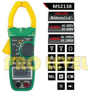 Digital AC & DC Clamp Meter (MS2138) pictures & photos