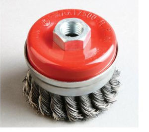 Twisted Cup Brush with High Efficiency (65mm~150mm diameter)