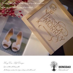 Hongdao Classic Wooden Packing Box with Sliding Lid_F pictures & photos