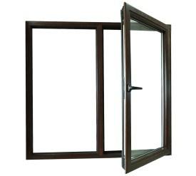 Aluminum Casement Window with Screen pictures & photos