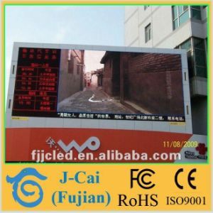 Whosale P10 Outdoor Full Color LED Display pictures & photos