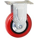 Medium Duty Type PVC Caster Wheel (KMx11-M10) pictures & photos