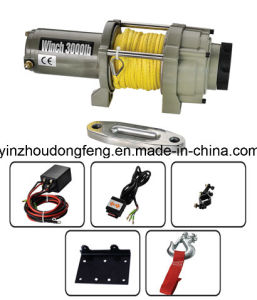 ATV Winch P3000-1W with Rope pictures & photos