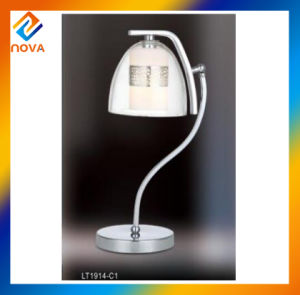European Design Hotel Modern Metal Glass LED Table Lamp pictures & photos