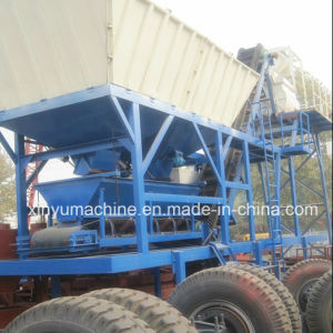 Yhzs Series 50m^3/H Full Automatic Concrete Batching Plant pictures & photos