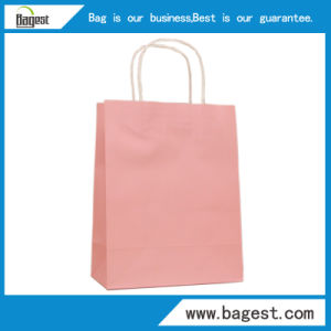 Different Color Kraft Paper Gift Bag for Garment Packaging pictures & photos