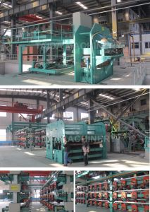 China Factory Steel Cord Rubber Conveyor Belt Vulcanizer Production Line pictures & photos