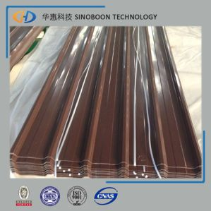 2017 Corrugated Wave Tile Steel Roofing Sheet Price pictures & photos