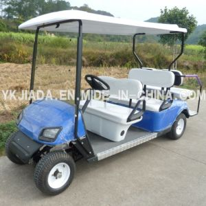 CE Approved 6 Seat Electric Golf Cart (JD-GE502B) pictures & photos
