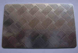 Embossing Stamping Stainless Steel Sheet with China Cheap Price pictures & photos