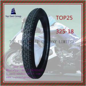 ISO Nylon 6pr Motorcycle Inner Tube and Motorcycle Tyre 325-18 pictures & photos