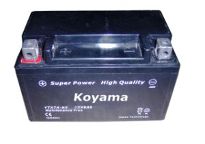 High Quality Motorcycle Battery Ytx7a-Bs--- 7ah 12V pictures & photos