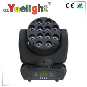 12PCS Full Color LED Beam Moving Head Light pictures & photos