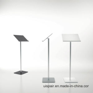 Uispair 100% Steel Modern Simple Podium Without Speakers for Meeting Room pictures & photos