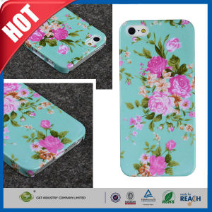 C&T Retro Floral Series Vintage Flower Pattern Semi-Soft Back Case for iPhone 5 5s pictures & photos