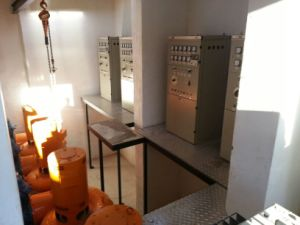 30kw-100kw Cross Flow Turbine Small Hydro Turbine Water Turbine Generator Power Generator pictures & photos