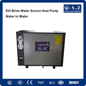 Working -25c Cold Winter House Floor Heating 10kw/15kw/20kw/25kw Produce 55c Hot Water Underground Heat Pump Water Heater pictures & photos