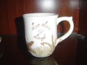 Ceramic Mug with Painting Pattern pictures & photos