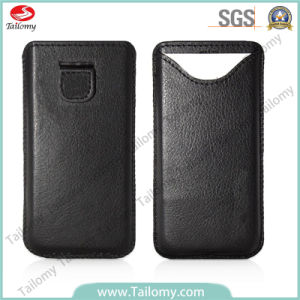 Universal Cheap Mobile Phone Case for iPhone 5 with Pull up Strap