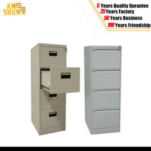 Metal Storage Steel Four Drawer Cabinet pictures & photos