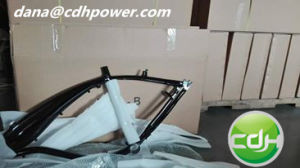 Aluminum 2.4L Gas Tank Frame, Mountain Bicycle pictures & photos