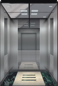 Permanent Magnet Synchronous Passenger Lift with Machine Room pictures & photos