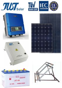 High Efficiency 20kw off Grid Solar System with German Quality pictures & photos