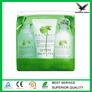 Eco Green PVC Zipper Bag Custom Printed pictures & photos