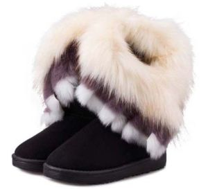 Fashionable Ladies Winter Shoes Ankle Snow Boots
