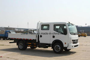 Dongfeng Kai Pute N300 130 HP 3.13 Meters Cargobox Double Row Cabine Light Truck pictures & photos