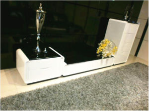 Modern High Glossy Home Furniture TV Cabinet Wall Cabinet (WLF-D2007)