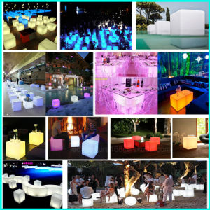 Rrechargeable LED Decoration Base for Wedding Table pictures & photos