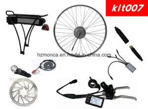 High Torque Motor E Bike Kit with Rear Rack Battery Integrated Back Light pictures & photos