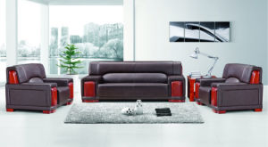 Guangzhou High End Office Furniture Leather Office Waiting Sofa (FOH-8005) pictures & photos