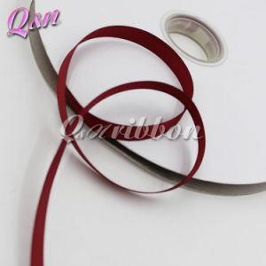 Wine Solid Grosgrain 9mm Ribbon