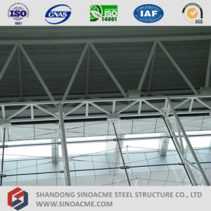 Sinoacme Steel Pipe Truss Structure Terminal Center pictures & photos