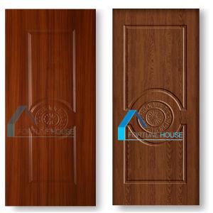 Sun Flower Style Design HDF MDF Melamine Door Skin pictures & photos