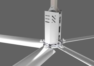 Diameter 1.5kw Big Industrial Ceiling Fans for Ventilation 7.4m/24.3FT