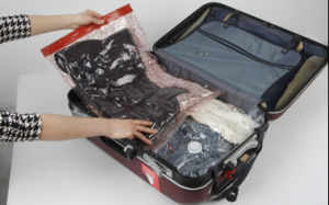 Reasonable Price Travel Vacuum Roll up Storage Bag pictures & photos