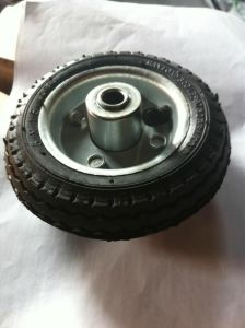 "5""*1.5"" Pneumatic Rubber Wheel pictures & photos"