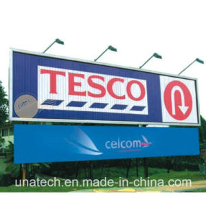 Outdoor Advertisement Horizontal LED Flood Lighting Sticker Trivision Billboard pictures & photos