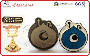 Gold Plating Dog Pin Badges Lapel Pins Animal Pins pictures & photos
