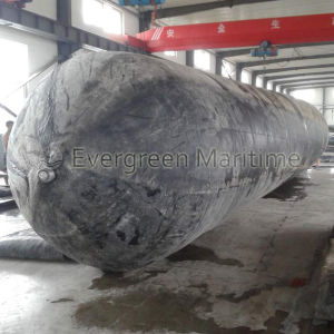 Inflatable Rubber Marine Airbag for Heavy Duty Vessels′ Pulling to Shore, Docking and Ashoring pictures & photos