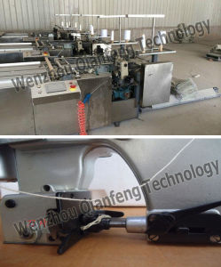 Special Double-Side Sewing Machine for Plastic Cement Bag pictures & photos
