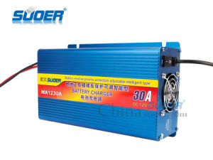 Suoer 12V 30A Universal Lead Acid Car Battery Charger (MA-1230A) pictures & photos