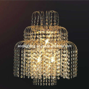 K9 Crystal Gold Color Decorative Wall Lamps (AQ-3037) pictures & photos
