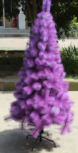 Purple Needle Christmas Tree (T36)