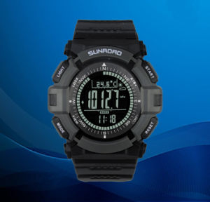 2014 Wrist Fashion Sports Watch with Compass, Barometer, Weather Forecast Waterproof (QT-FR821B) pictures & photos