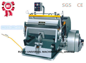 Paper Cup Die Cutting Creasing Machine (ML-1100) pictures & photos